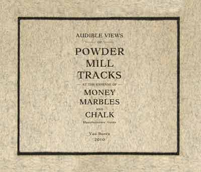 Powder Mill Money Marbles And Chalk